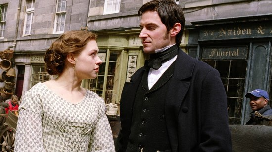 Daniela Denby-Ashe as Margaret Hale and Richard Armitage as John Thornton