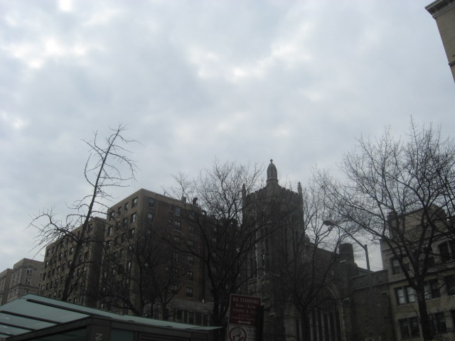 Church across from Columbia U (114th & Bdwy)