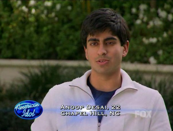 Anoop is the anti-Sanjaya... Thank goodness!!!