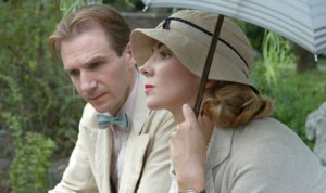 With good friend Ralph Fiennes - The White Countess