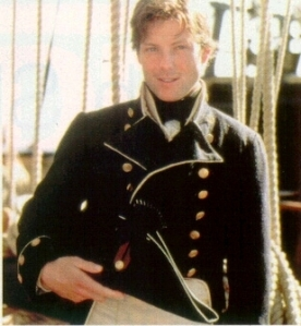 "More blonde & young in ""Horatio Hornblower"""