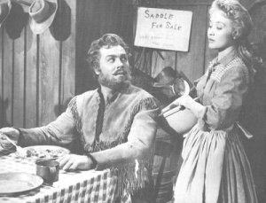 Howard Keel and Jane Powell