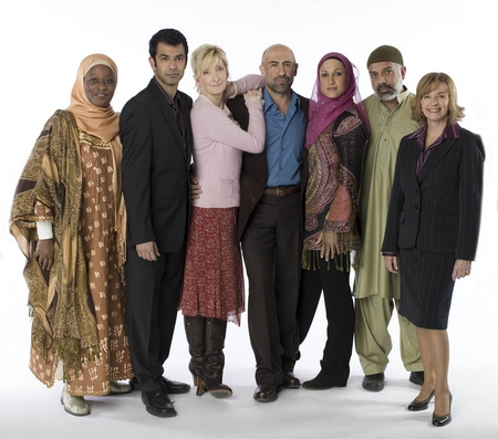 "Cast of ""Little Mosque on the Prairie"" (a CBC comedy)"