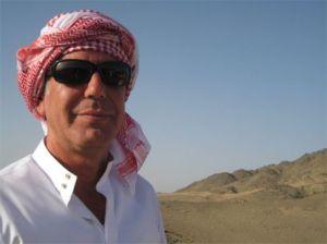 Tony in Saudi Arabia