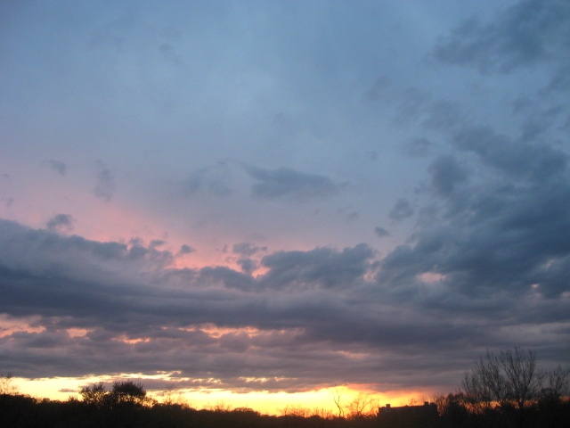 Around 7PM (after rain)- v pretty again!