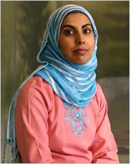 Zarqa Nawaz (the show's creator)