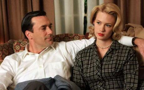 Don (Jon Hamm) & Betty (January Jones)