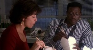 Flipper (Wesley Snipes) & Angie (Annabella Sciorra)