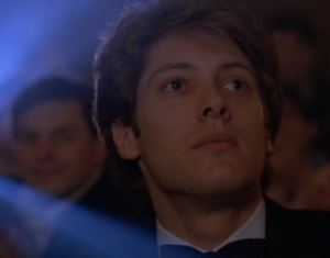 Max (James Spader)- a VERY young widower