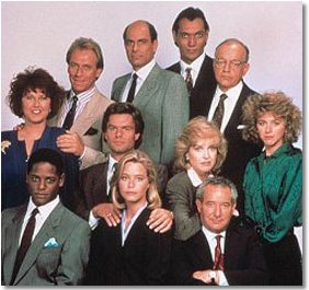 "The cast of ""LA Law"" (1986)"