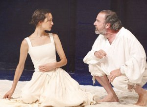 "Elisabeth in ""The Tempest"" (opposite Mandy Patinkin)!"