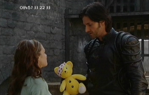 Richard and Lucy Griffiths in Children in Need TV spot