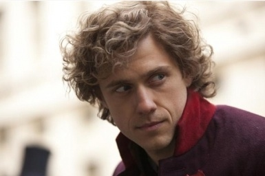 Aaron Tveit as Enjolras in Les Miserables (2012)