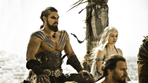 Drogo and Dany's wedding