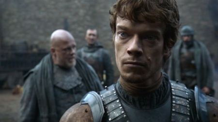 Theon Greyjoy at Winterfell