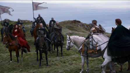Renly meets with Stannis