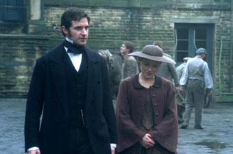 Mr. Thornton & Margaret talk at the mill