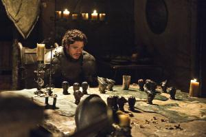 King of the North, Robb Stark plans war strategy