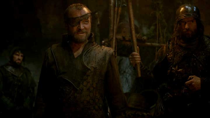 Ser Beric Dondarrion has returned