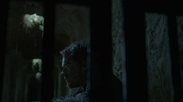 """Theon (Alfie Allen) recalls his """"real father"""""""