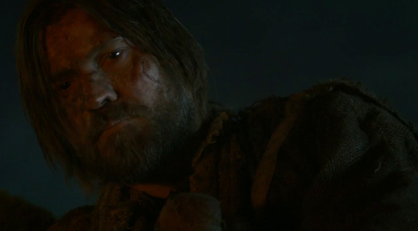 Jaime (Nicholaj Coster-Waldau) has hit a very low point
