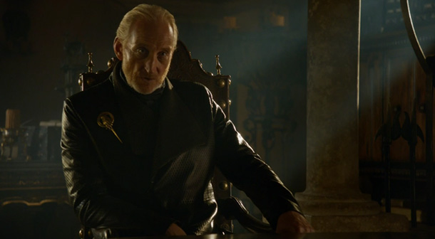 Lord Tywin Lannister: So glad he's not my dad- LOL!