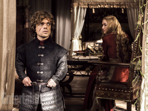Tyrion and Cersei commiserate