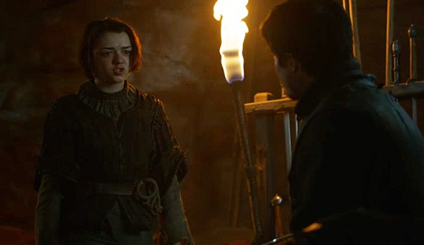 Arya and Gendry will take different paths