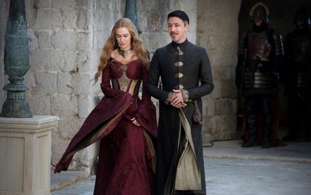 Cersei and Littlefinger have a walk and talk