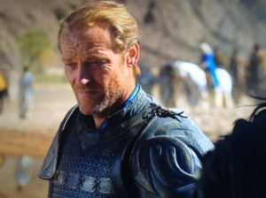 Ser Jorah thinks of politics