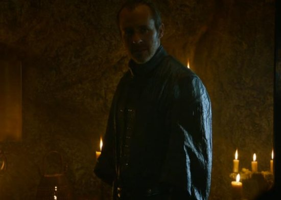 We finally get to see Stannis' home life