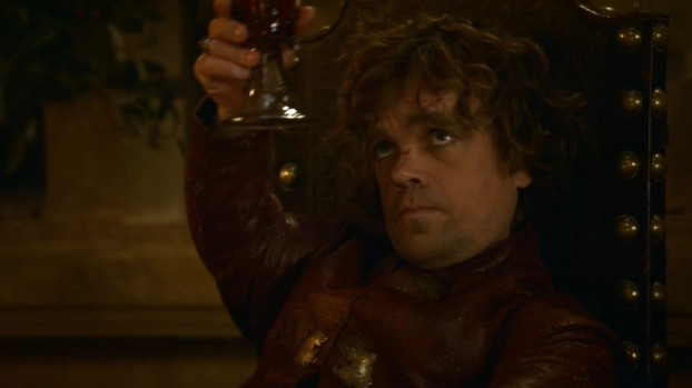 Tyrion raises a toast to Ser Loras
