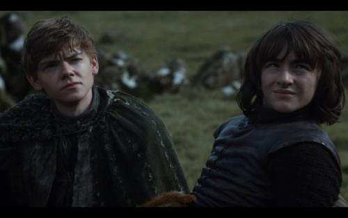 Jojen and Bran