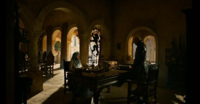 Lady Olenna and Lord Tywin face off