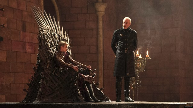 Joffrey and Tywin