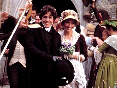 Edward and Elinor after their wedding
