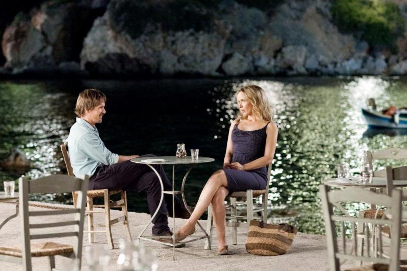 Jesse (Ethan Hawke) & Celine (Julie Delpy)