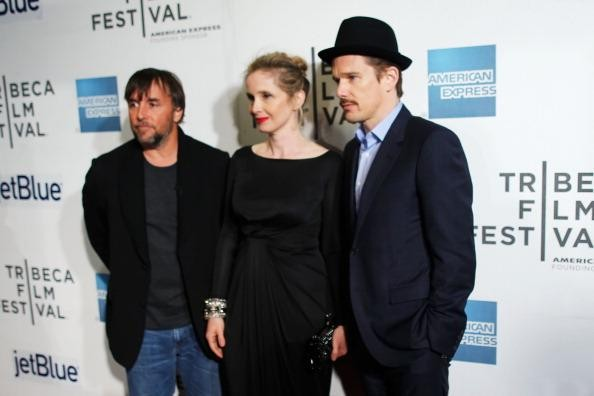 It takes three: Richard Linklater, Delpy, & Hawke at 2013 Tribeca Film Festival