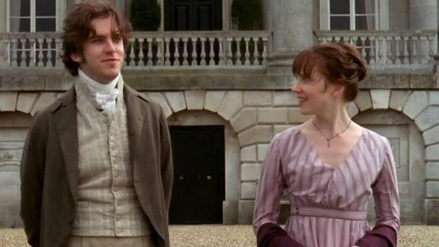 Edward (Dan Stevens) & Elinor (Hattie Morahan) in the '08 miniseries
