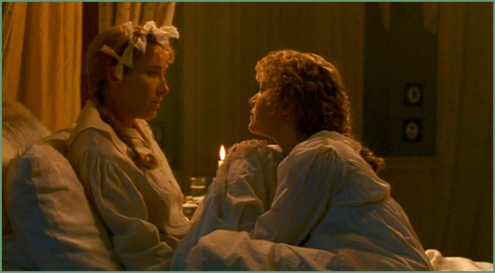 Elinor (Emma Thompson) and Marianne (Kate Winslet)