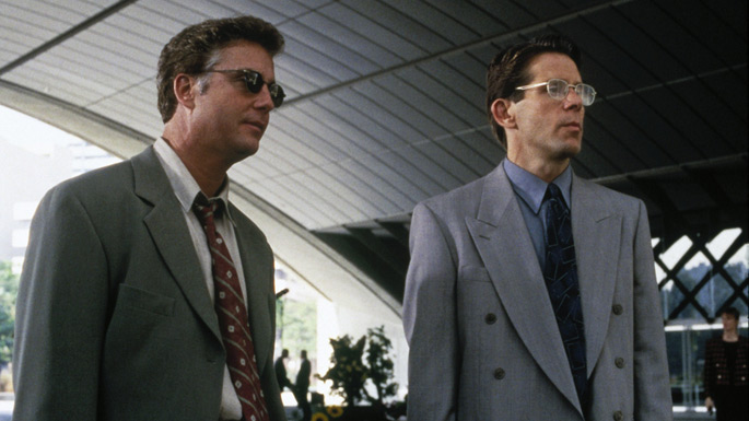Jeff (William Petersen) and Marty (Gary Cole)