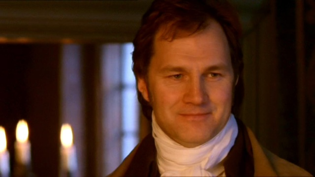 Col. Brandon (David Morrissey) sees Marianne for the first time in the '08 minseries