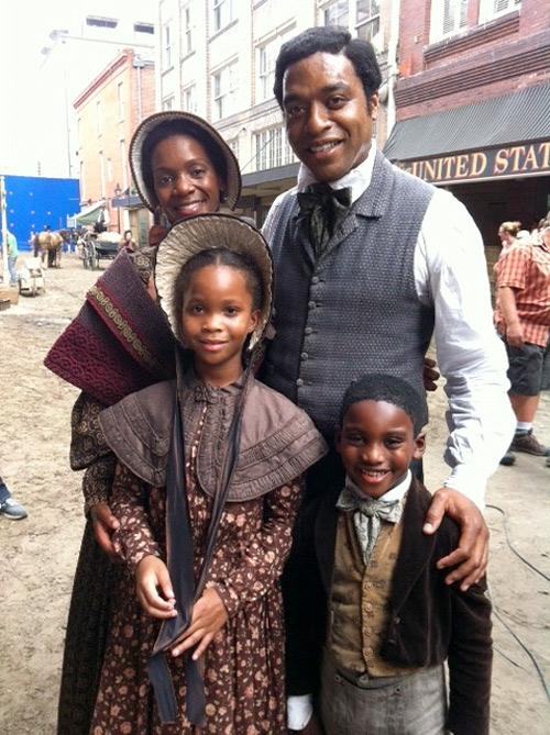 Solomon with his family
