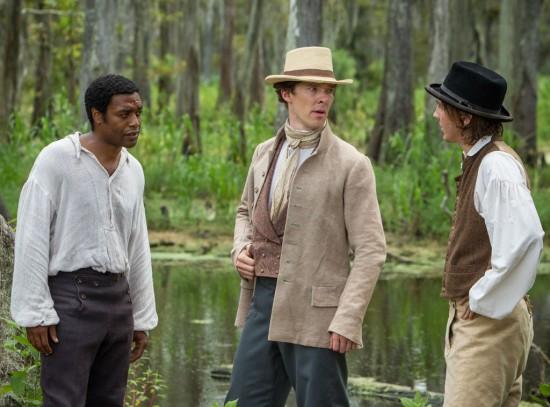 Solomon impresses Mr. Ford (Benedict Cumberbatch), not overseer Tibeats (Paul Dano)
