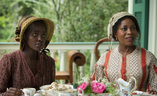 Patsey seeks respite with friendly Mistress Shaw (Alfre Woodard)