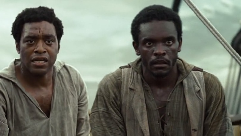 Solomon and Clemens (Chris Chalk) witness brutality on the boat