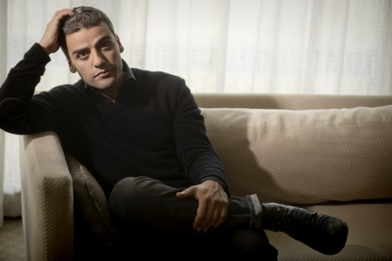 Actor Oscar Isaac in a Washington Post photo