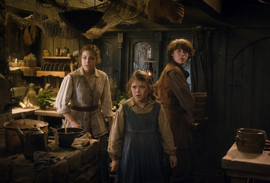 Bard's kids in their Laketown home