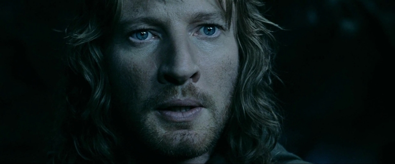 Faramir is almost tempted by the ring