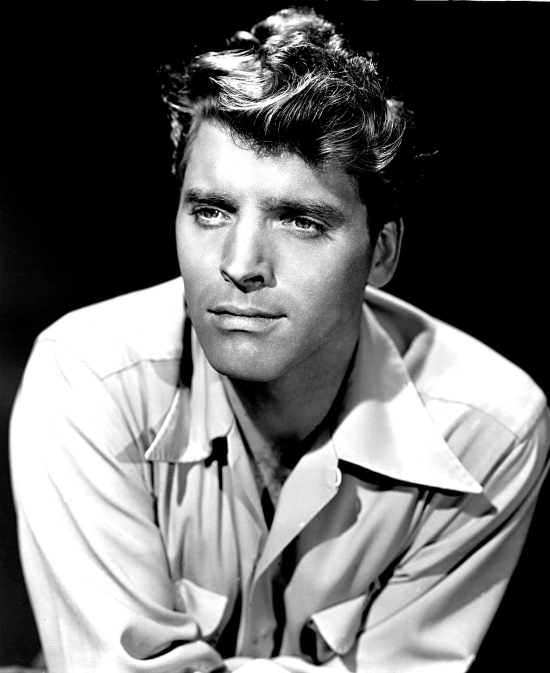 Young Burt Lancaster in a publicity photo (1947)